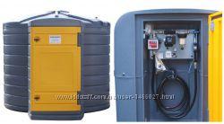 МИНИ АЗС 220В 75лмин на базе резервуара SWIMER 3500л для дизтоплива