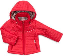 Демисезонная куртка Verscon с капюшоном на флисе
