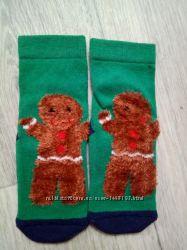 Носки новогодние Next 23-26 размер новые
