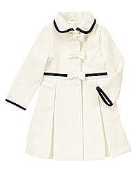 Нарядное пальто на девочку 7-8 лет, демисезон