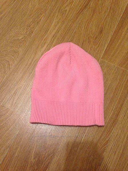 светло розовая шапка шапочка демисезонная весенняя деми молодежная модная