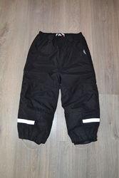 Тонкие термо-штаны без утеплителя ф. Name it р. 98 см 2-3 года как новые