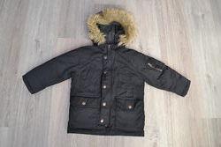 Очень теплая зимняя куртка ф. Gap р. 3 года 100 см