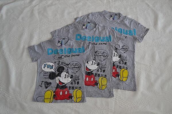 Новые футболки с Микки ф. Desigual Испания 5-6 лет и 11-12 лет
