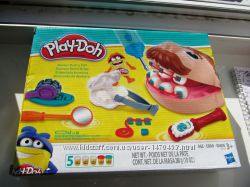 Play-Doh Doctor Drill &acuteN Fill Набор пластилина Мистер зубастик