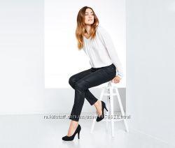 Стильные джинсы с покрытием Slim Fit 36р евро tcm Tchibo
