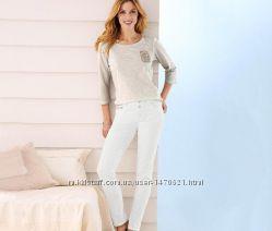 Стильные женские джинсы 36р евро tcm tchiboгермания смотрите замеры