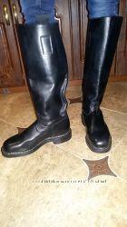 Кожаные сапоги для конного спорта, верховой езды Cavallo