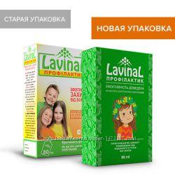 Лавинал-Профил. спрей дзащ. от вшей 80мл