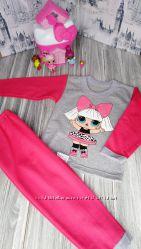 Пижама теплая для девочки Лол, литл пони, София, LOL