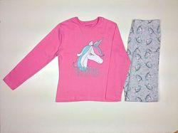 Трикотажные пижамы для девочек 7-13лет PRIMARK и George