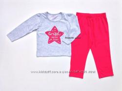 Трикотажные пижамы для девочек 1,5-8лет PRIMARK