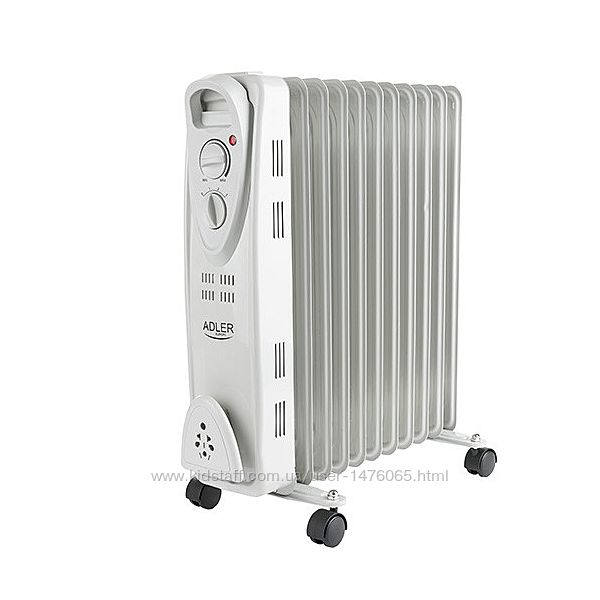 Новый маслянный радиатор 11 секций из Европы Adler AD7809 с гарантией