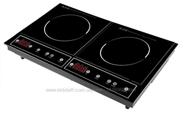 Индукционная плита на 2 конфорки из Германии Topmatic DIP-4200.2гарантия