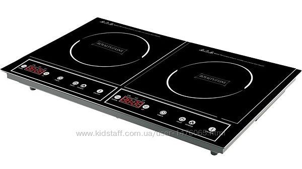 2-конфорочная индукционная плита из Германии Royalty Line DIP-4000.2