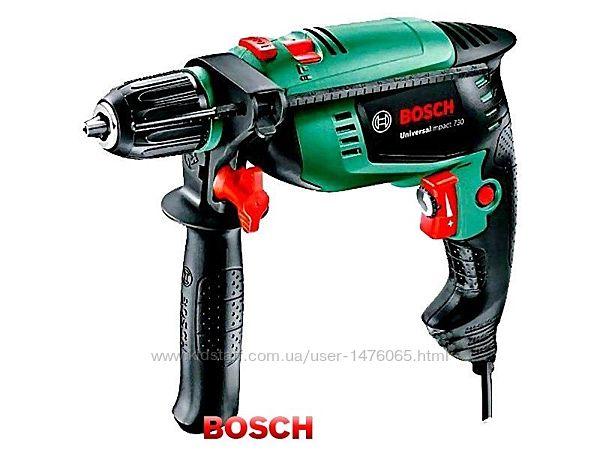 Фирменная ударная дрель из Германии Bosch Universalimpact 730 с гарантией
