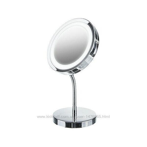 Косметическое зеркало с LED-подсветкой из Европы Adler AD2159 с гарантией
