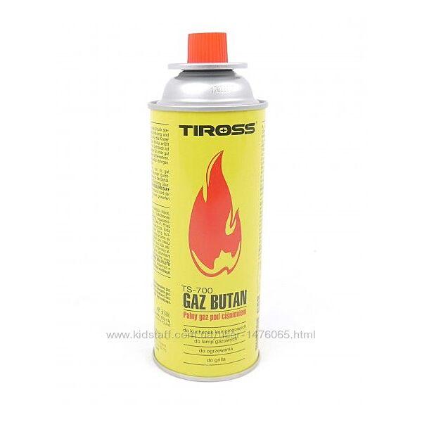 Баллон для туристических газовых плит и горелок из Европы Tiross TS-700