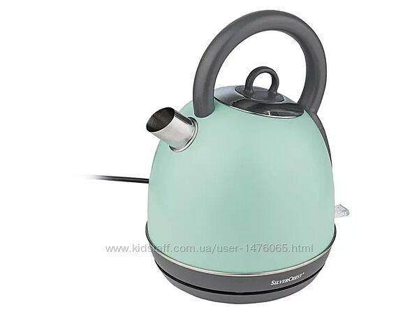 Металлический электрический чайник из Германии Silver Crest SWKC 2400 B2
