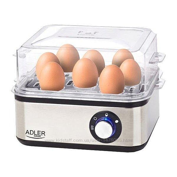 Новая функциональная яйцеварка из Европы Adler AD4486 с гарантией