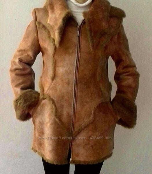 Бесплатная доставка. Шуба. Полушубок. Куртка. Зимняя куртка.