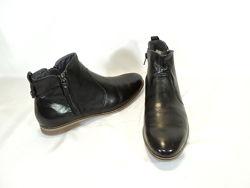 Кожаные комфортные ботинки от Pier One, р 39   26 см