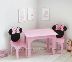 Детский столик и стульчик для игор