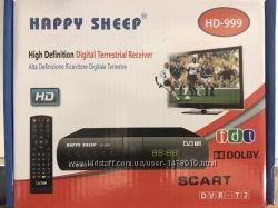 Тюнер ресивер Happy Sheep HD-999 приставка двб dvb T2 Недорого