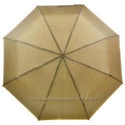Зонт механика ТМ Susino черный и бежевый Распродажа остатков