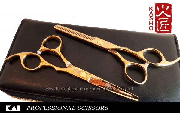 Профессиональные парикмахерские ножницы KASHO 6и 5, 5дюймов Japan