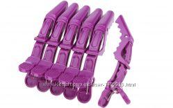 Парикмахерские зажимы  заколки  для волос