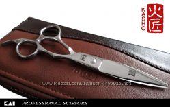 Профессиональные парикмахерские ножницы Лист бамбука KASHO 6&acute