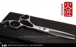 Филировочные парикмахерские ножницы KASHO 6&acute   10-15процентов