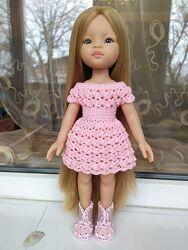 Красивое платье для куклы. Одежда