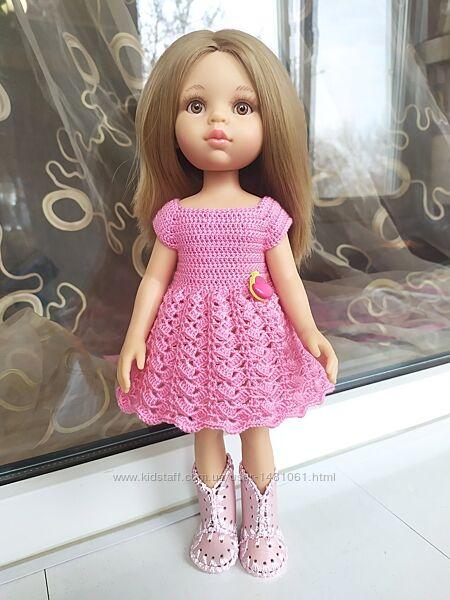 Платье, одежда для куклы 32-35 см Вестида де Азул, Паола Рейна, Антонио