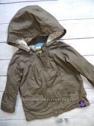 Куртка-ветровка topolino, для девочки от года до двух. Большемерит