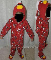 новый год Angry birds Essentials Кигуруми пижама карнавальный