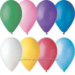 Шарики воздушные 23 см Gemar разноцветные надувные шары