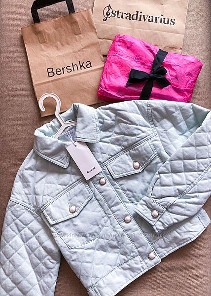Стёганая куртка Bershka