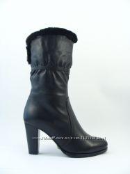 0a582a4a1 Зима полусапоги натуральная кожа кожаные ботинки полусапожки сапоги зимни