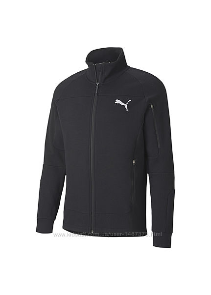Олимпийка puma evostripe men&acutes full zip jacket   оригинал