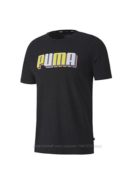 Футболка puma celebration men&acutes graphic tee