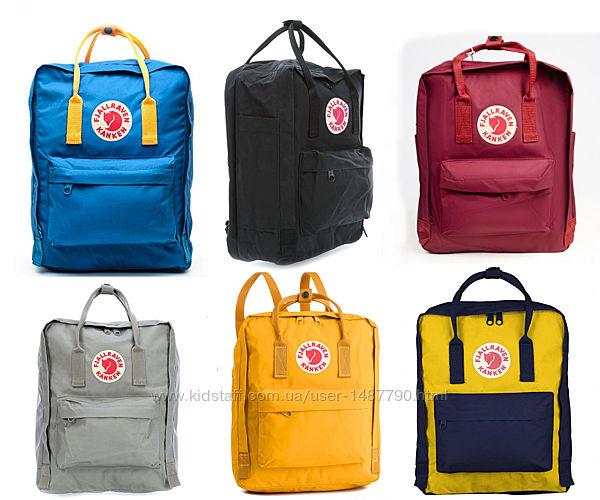 Рюкзаки Kanken Fjallraven 40х30см 16 л сумка городской, для школы Канкен