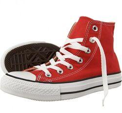 Кеды Converse All Star Chuck Taylor Red Высокие Красные