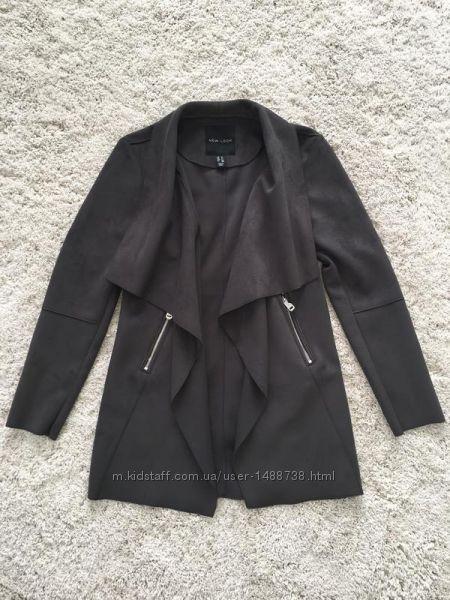 Кардиган  блейзер  жакет під замш  піджак  пальто оверсайз s-m