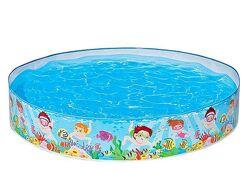 Бассейн детский Подводный мир, бассейн Intex Snapset Pool 152х25см