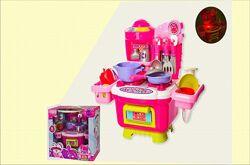 Игровой набор кухня Kitchen со светом и звуками, детская кухня в коробке