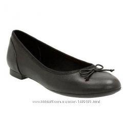 Шкіряні балетки-туфлі vera pelle