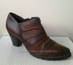 Tamaris Ботильоны, туфли, ботинки, кожа.