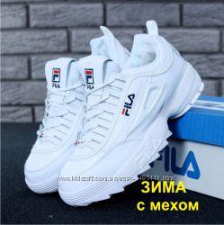 4e0bd012b68f8 Зимние женские кроссовки FILA Disruptor 2 FUR с мехом, 1180 грн ...